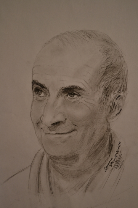 Louis de Funès by Zahira